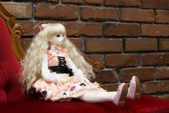 Японский стиль lolita куклы стоковое фото