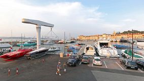 Яхты St Tropez стоковое изображение