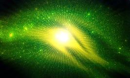 Яркий блеск текстурировал предпосылку предпосылки, ярких, сияющих и световых эффектов стоковое изображение