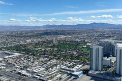 3-ье марта 2019 - Лас-Вегас, Невада - верхняя часть ресторана мира - НАЧАЛО стоковое изображение