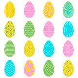 Установите 16 яя цвета иллюстрация вектора
