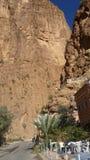 Ущелья du toudgha, tinrhir, Марокко стоковое изображение rf