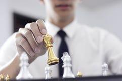 Шахматы дела, умное дело, деловая игра каждый обмен игры стоящий стоковые изображения rf