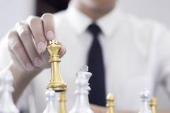 Шахматы дела, умное дело, деловая игра каждый обмен игры стоящий стоковое фото rf