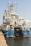 Шведский сосуд борьбы с загрязнением окружающей среды KBV службы береговой охраны 033 стоковые фото