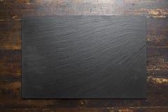 шифер предпосылки черный стоковое изображение