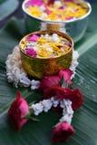 Тайское традиционное для фестиваля Songkran стоковая фотография rf