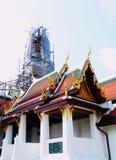 Техническая позиция на Wat Phra Kaew в Бангкоке, Таиланде стоковые фото