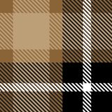 Ткань ткани шотландки безшовная с текстурой картины предпосылки цвета нашивок абстрактной бесплатная иллюстрация