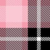 Ткань ткани шотландки безшовная с текстурой картины предпосылки цвета нашивок абстрактной иллюстрация вектора