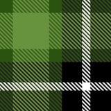 Ткань ткани шотландки безшовная с текстурой картины предпосылки цвета нашивок абстрактной иллюстрация штока