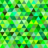 Many colored triangles of different shades stock illustration