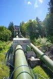 Трубопровод к реке Snoqualmie стоковое фото