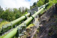 Трубопровод к реке Snoqualmie стоковая фотография