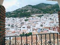 Только маленький город стоковое изображение rf