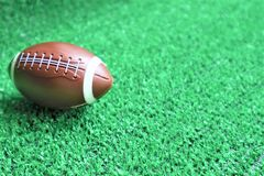 футбол американского шарика стоковая фотография