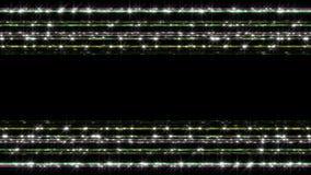 Футуристическая анимация нашивки света технологии, 4096x2304 петля 4K иллюстрация штока
