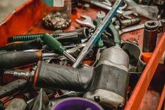 Фото инструмента для ремонтов автомобиля стоковое фото
