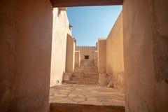 Форт Rustaq, Оман стоковые изображения rf