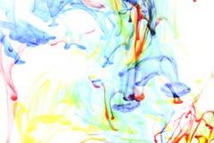 Цвета в воде стоковая фотография rf