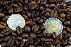 Цена кофе справедливой торговли стоковая фотография rf