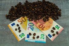 Цена кофе справедливой торговли стоковые фотографии rf