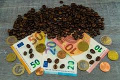 Цена кофе справедливой торговли стоковое фото