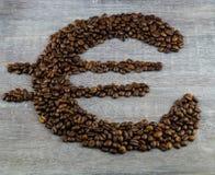 Цена кофе справедливой торговли стоковое изображение rf
