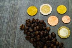 Цена кофе справедливой торговли стоковые фото