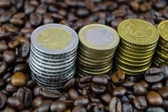 Цена кофе справедливой торговли стоковая фотография