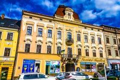 Центральная площадь 03 Chernivtsi стоковое изображение rf