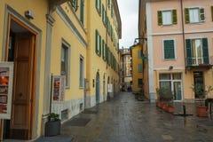 Центр Варезе, Италии стоковые изображения