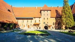 Центр ` s Кракова - Польши исторический, город с старой архитектурой стоковое изображение