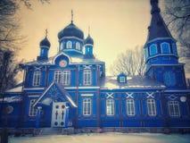церковь правоверная Польша стоковые фотографии rf