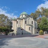 Церковь St Nicholas Thaumaturge в Варне, Болгарии стоковые фото