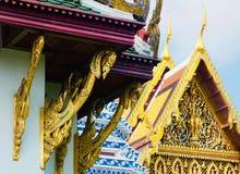 Часовни на Wat Phra Kaew в Бангкоке, Таиланде стоковая фотография
