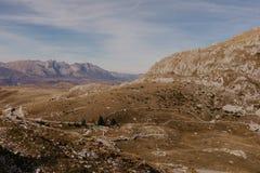 Чудесный взгляд к горам в национальном парке Durmitor в Черногории, Балканах европа Прикарпатский, Украина, Европа - Изображение стоковое изображение