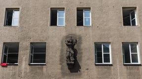 Чудесный городок Дрездена старый стоковое изображение