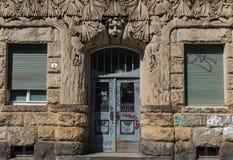 Чудесный городок Дрездена старый стоковая фотография