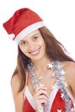 х-mas girl Stock Photography