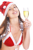 �-mas girl Stock Photography