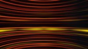 Развевая нашивки мерцающего света двигая бесконечно и параллели друг к другу Абстрактная красочная предпосылка с изогнутый иллюстрация штока