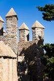 Различные башни рядом стоковые фото