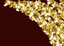 Рамки любов золота стоковое фото rf