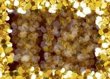Рамки любов золота стоковое фото