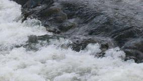река грубое движение речных порогов быстрое воды сток-видео