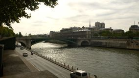 Река и мост Кембриджа стоковые фото