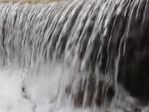 Река Luda Mara - в центре Petrich в зиме февраля 2019 видеоматериал