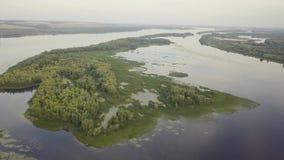 Река озера Riverland сток-видео