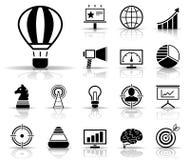 Реклама & маркетинг - Iconset - значки иллюстрация вектора